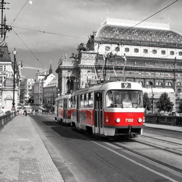 Общественный транспорт Праги