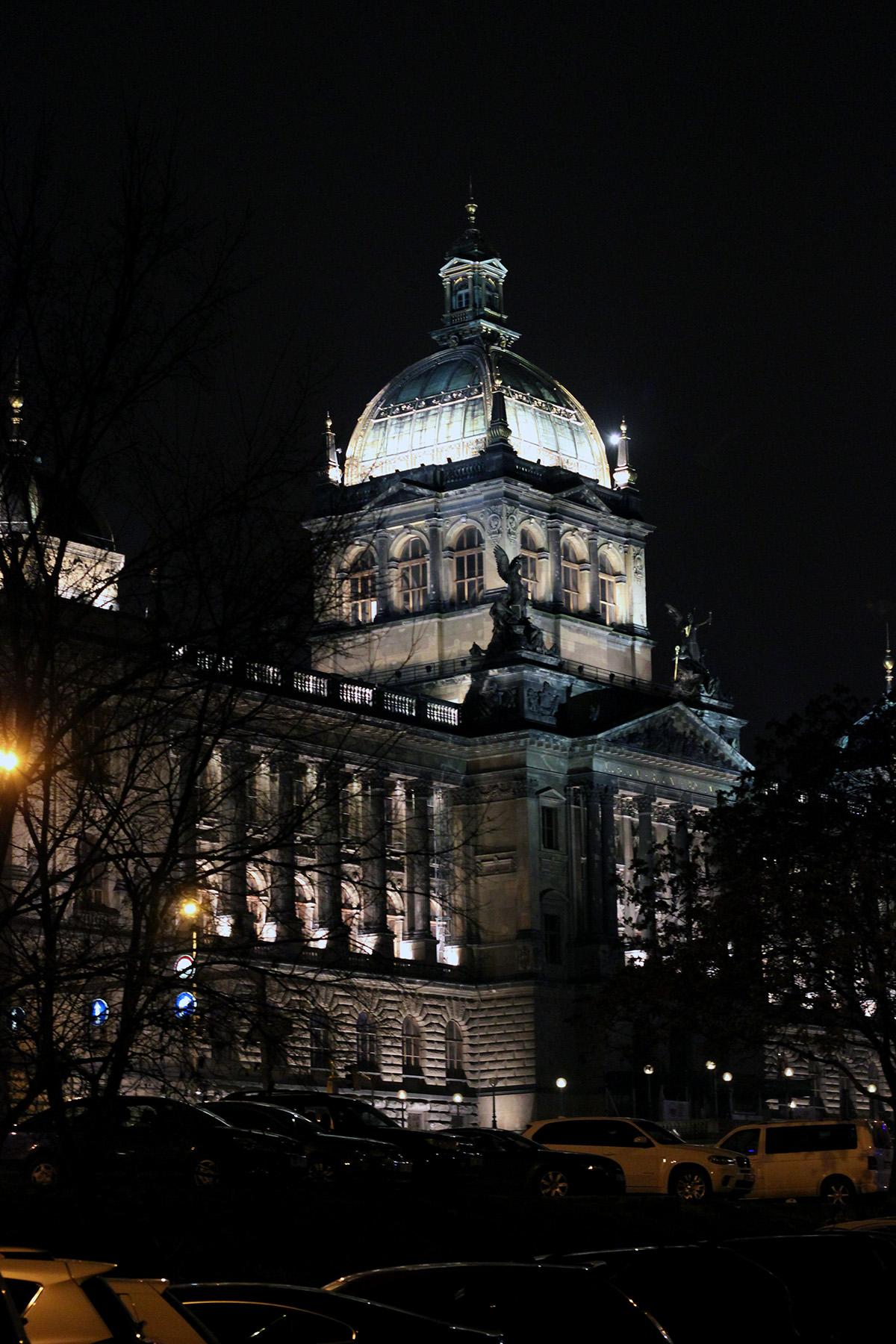 Подсветка национального музея