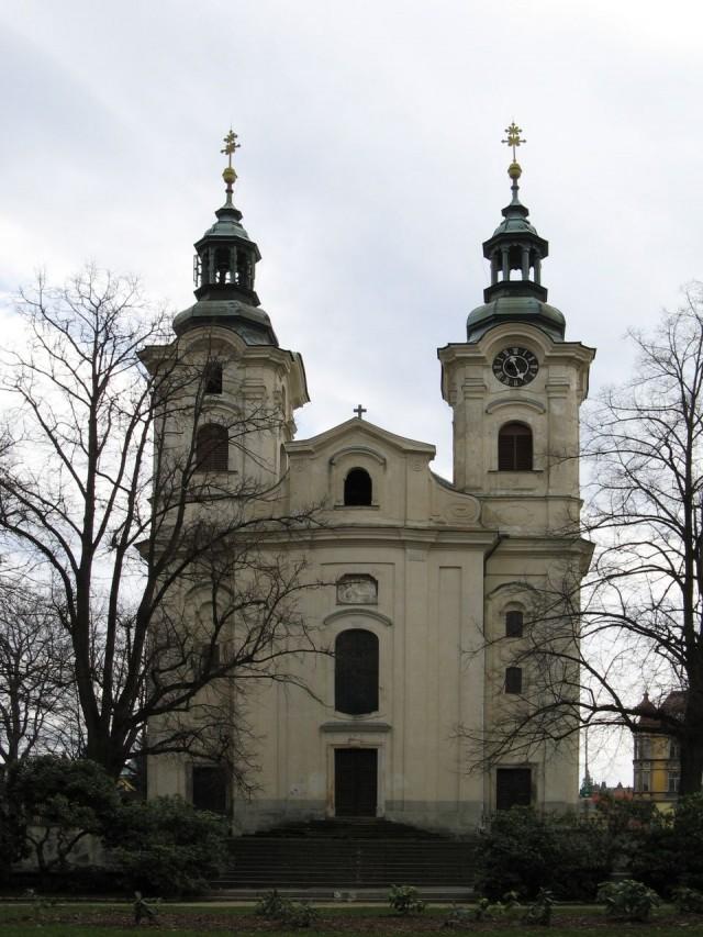 Костел Святого распятия. Чехия