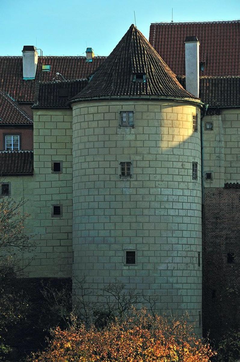 Белая  Башня в Праге