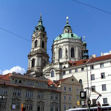 Церковь Святого Николая (Kostel svatého Mikuláše) на Малостранской площади